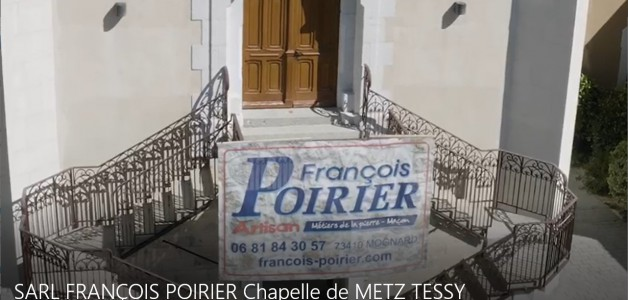 SARL FRANÇOIS POIRIER : Travaux de rénovation sur la Chapelle de METZ-TESSY